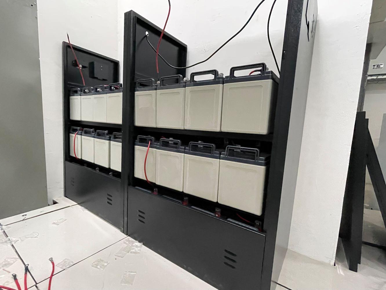宜宾UPS不间断电源铅酸蓄电池安装案例