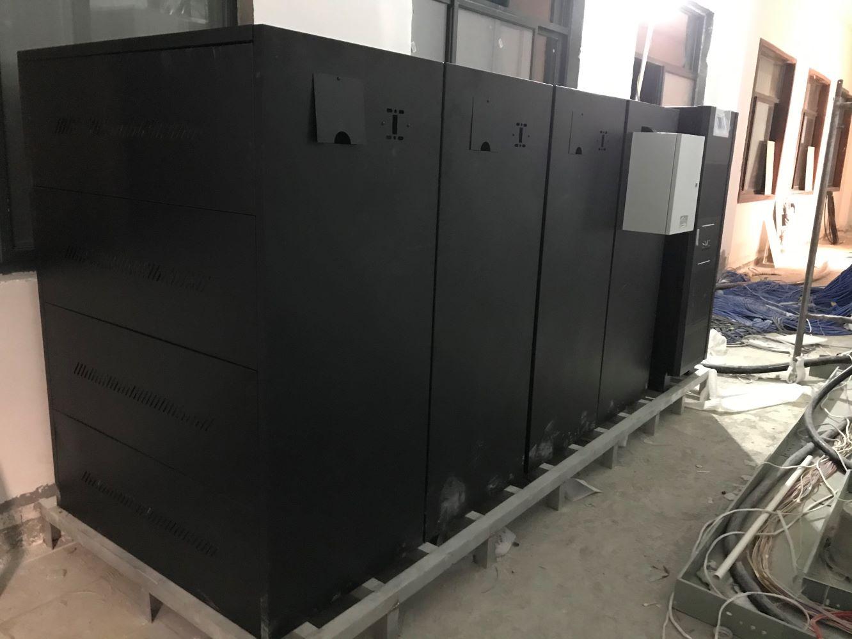 雅安某部队机房工频机100K安装案例